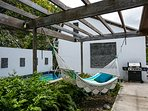 Pool, Hammock, and Outdoor Grill