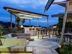 Resort relax bar area