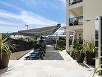 Resort relax area