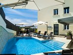 Resort relax pool area 1