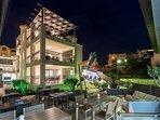 Resort facade view
