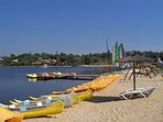 Quinta do Lago Lake with their water sports