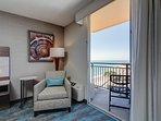 Each unit has its own partial ocean view balcony!