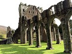 Llanthony Priory is a great day trip and picnic spot