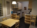 Full size appliances and all kitchen accessories provided
