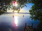 Morning kayaking before breakfast