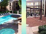 Each of the 4 pools has a quiet Ramada to relax and BBQ