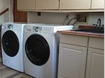 Laundry Room High Efficiency Washing Machine and Dryer