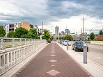 Easily explore Indianapolis from this ideally located property.