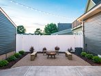 Finish your Indianapolis days in this vacation rental home's stunning backyard.