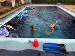 Kids LOVE the pool!