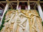 The Ylang Ylang - Stunning wall carving