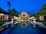 The Ylang Ylang - Main villa evening feel