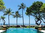 The Ylang Ylang - View from pool to sea