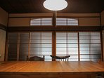 Japanese traditional style sliding doors
