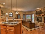 NEW! Southwind Seven Springs Ski-In/Ski-Out Home!