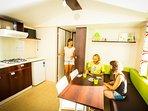 Kitchen and livig room