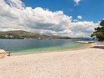 Ort allgemein  -  Strand Stari Porat in Okrug Donji