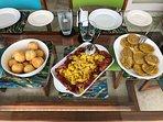 A lovely Jamaican breakfast!