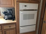 Small and large appliances provided including ninja food processor , shake and blender