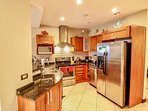Well equipped kitchen for all of your entertainment needs.