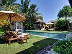 Majapahit Beach Villas - Villa Nataraja - View from guest bedroom