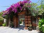 Majapahit Beach Villas - Entrance