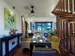 Majapahit Beach Villas - Villa Nataraja - Dining room