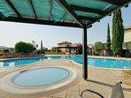 Separate toddler pool