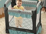 Graco Pack 'N Play Travel LIte Crib Playard Is Included If Needed.