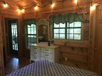 Antique dresser to make your cabin feel homey!