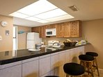 The kitchen is fully equipped with everything you might need to prepare delicious meals.