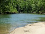 SPECTACULAR YEAR-ROUND PINEY CREEK--OUR SPOT IS THE BEST OF THE BEST!