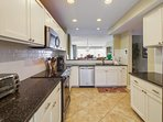 Large Kitchen, Enough Room For Everyone!