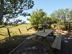Whilst enjoying a refreshing drink,enjoy the views from the property and maybe spot some wildlife