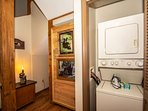 Lower level washer and dryer available for guest use.