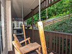Enjoy one of two balconies at Cupola ~ enjoy nature and watch for wildlife!