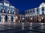 Piazza centrale di Potenza (Piazza Mario Pagano detta Piazza Prefettura poco distante dall'alloggio)