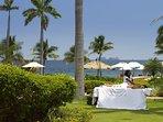 The Palms #7 Flamingo Beach Costa Rica, View in front of Villa #1 Beach - Massage Area