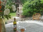 Relax with a glass of wine and unwind