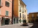 Piazza Duca della Verdura (Centro Storico poco distante dall'alloggio)