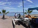 Lauch ramp in Loreto Shores