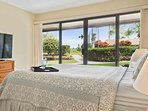 Keauhou Punahele #D103 - Master Bedroom with Lanai Access