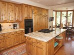 Gourmet Kitchen with Breakfast Nook