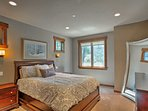 Take solace in one of 4 bedrooms for privacy.