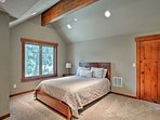 Kids will love sharing the fourth bedroom!