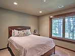 Admire wooded views from almost every room!