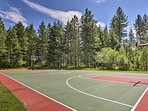 Play a pickup game of basketball at the neighborhood court!