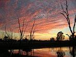 Sunrise Over Brangie Dam