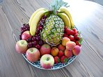 Let's get fruity - loads supplied especially for your group.